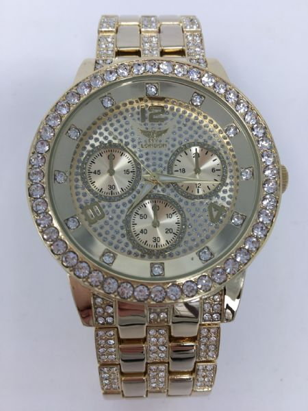NY BLING GENTS WATCH